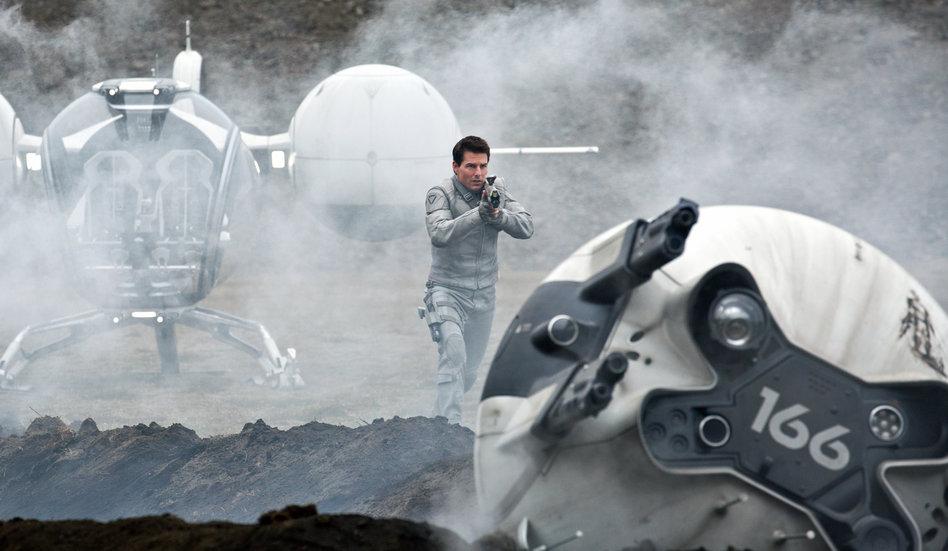 """Science-Fiction-Film """"Oblivion"""" : Schöner wohnen im Jahr 2077 - taz.de"""
