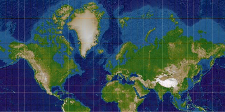 Kartografieprofessor Uber Seine Arbeit Karten Sind Immer
