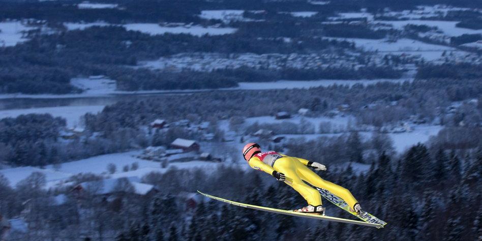 """Querschnittsgelähmter Skispringer Müller: """"Hey, Luki, machst"""