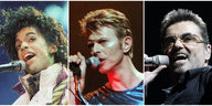 Prince 1985, David Bowie 1995, George Michael 2008