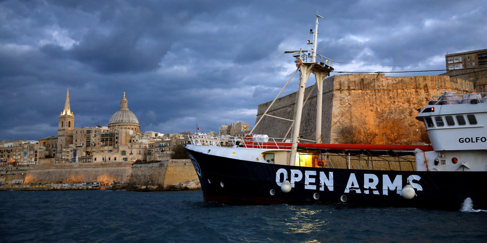 Malta und Italien verweigern NGO-Schiff Landung