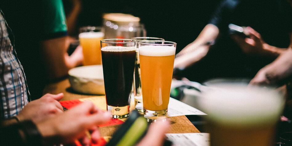 Trinken Und Pinkeln Läuft Bei Uns Tazde