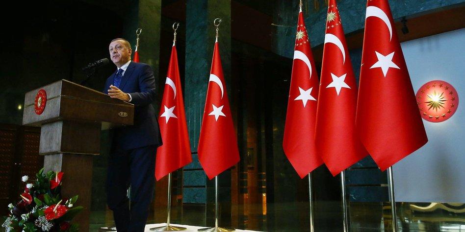 Türkei - Parlament billigt Erdogans Präsidialsystem