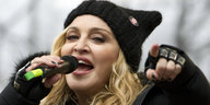 Madonna in Washington