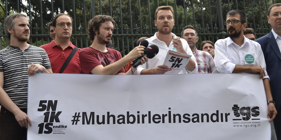 Mustafa Kuleli im Gespräch