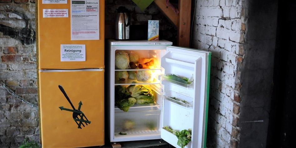 Foodsharing in Berlin: Die Leute wollen Kühlschränke - taz.de