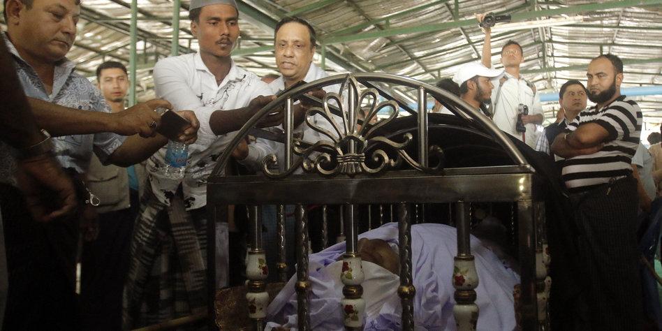 anschlag auf menschenrechtler in birma prominenter muslim erschossen. Black Bedroom Furniture Sets. Home Design Ideas