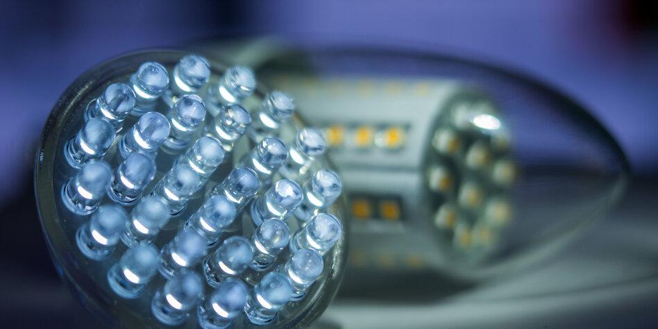 Strom sparen mit LED-Leuchten: Viele Lampen sind Müll - taz.de