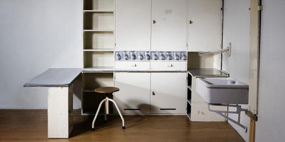 bauhaus einbauk che k chengestaltung kleine k che. Black Bedroom Furniture Sets. Home Design Ideas