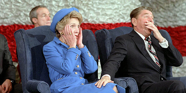 Nancy und Ronald Reagan