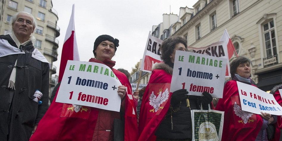 Gleichgeschlechtliche Ehe Frankreich