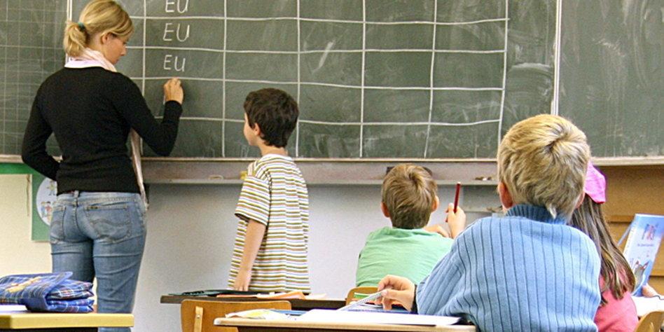 Lehrer und lesbische Studenten