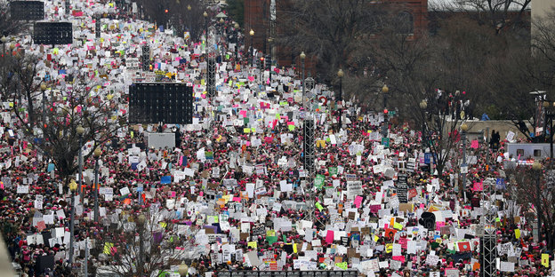 Women's March in Washington am 21. Januar 2017
