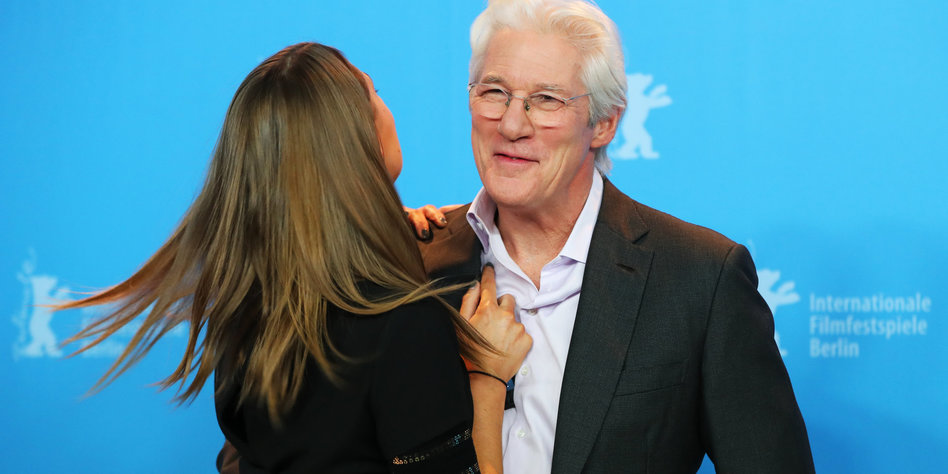 richard gere frau