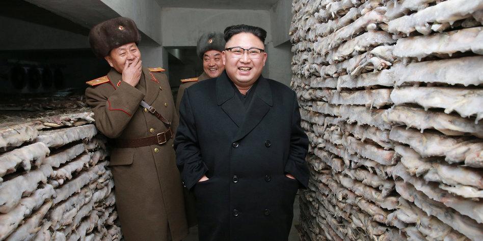 Nordkoreas Kim Jong-Un feuert Raketen Richtung Japan