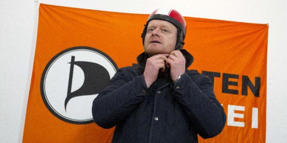 Piraten-Chef Schlömer: Der Bundes-Bernd - taz.de