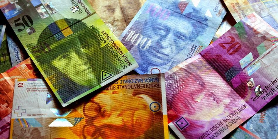 schweizer franc kurs