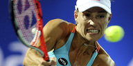 Angelique Kerber am Ball