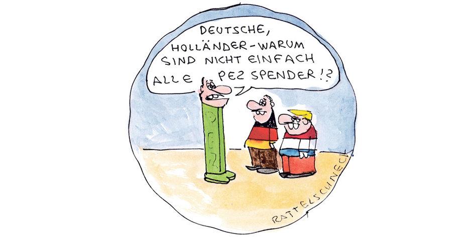 Witze über Holländer