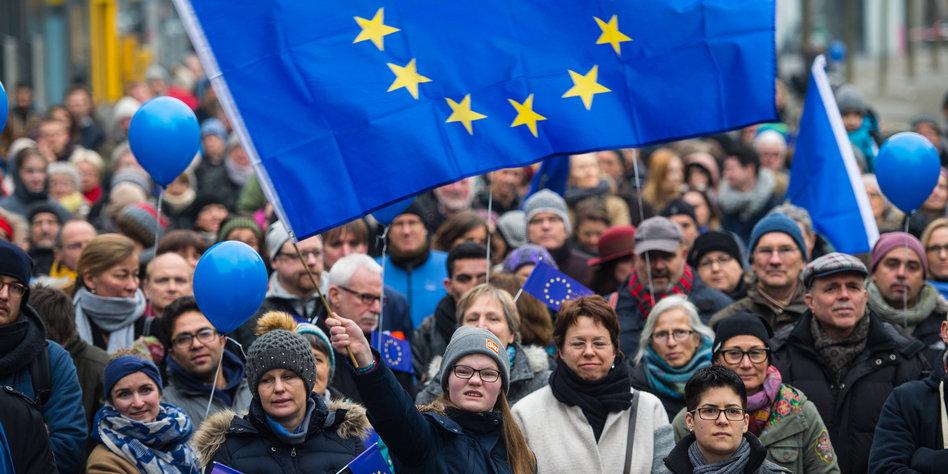 Aktion für Europa in Jena