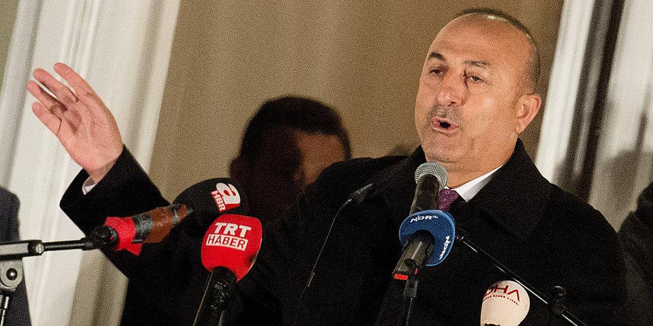 Ankara: EU-Appell an Türkei zur Mässigung ist