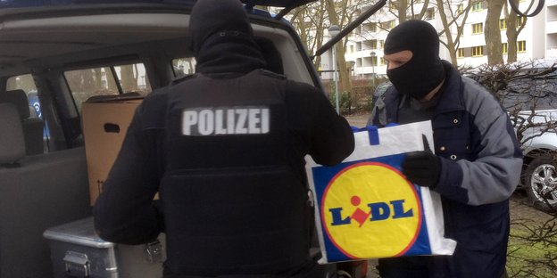 Polizeieinsatz in Berlin