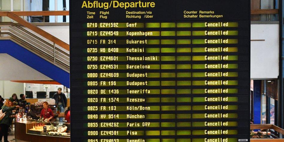 Streik geht weiter - rund 600 Flüge fallen aus
