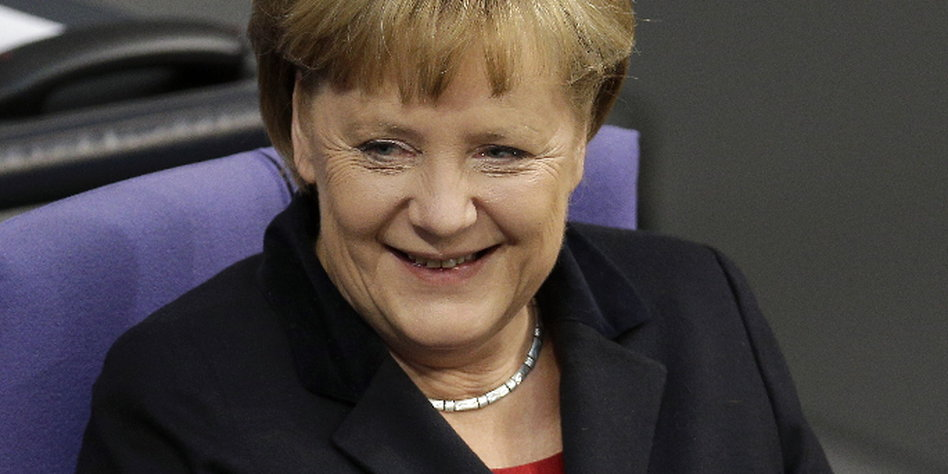 Umfragewerte Merkel