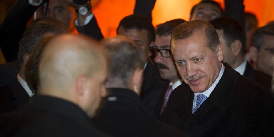 besuch merkel bei erdogan in der türkei