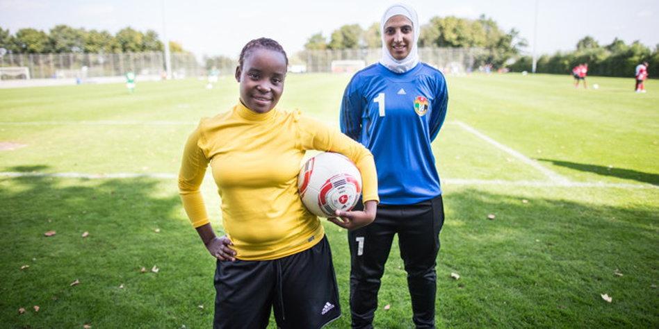 Spielerinnen Uber Frauenfussball Lesbische Spielerinnen