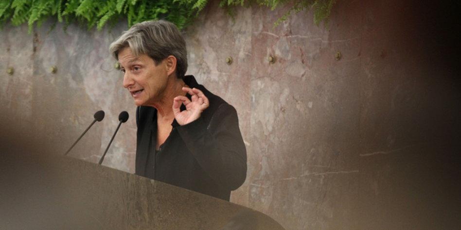 Butler diskutiert ber zionismus ethik der diaspora for Butlers leipzig