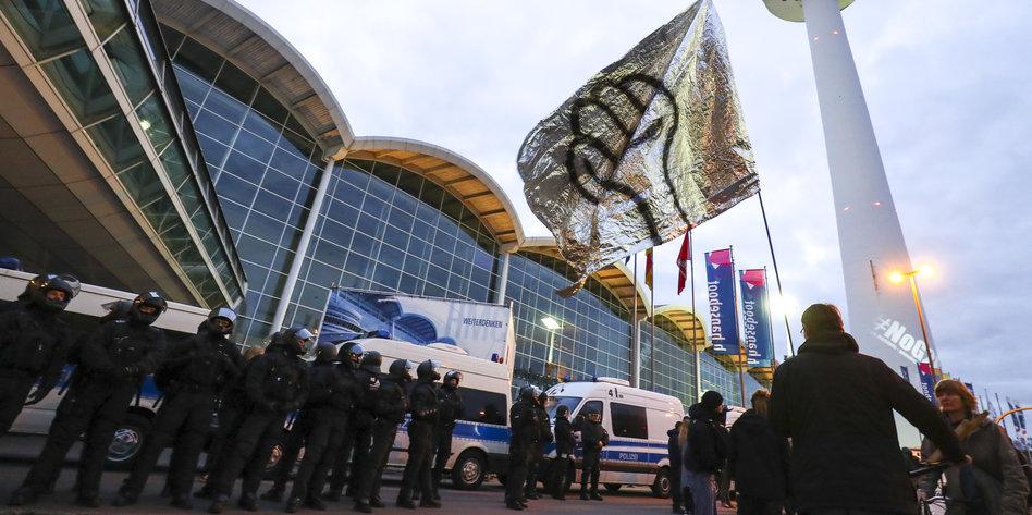 polizei bilder g20