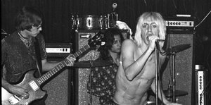 Die Band The Stooges im Konzert