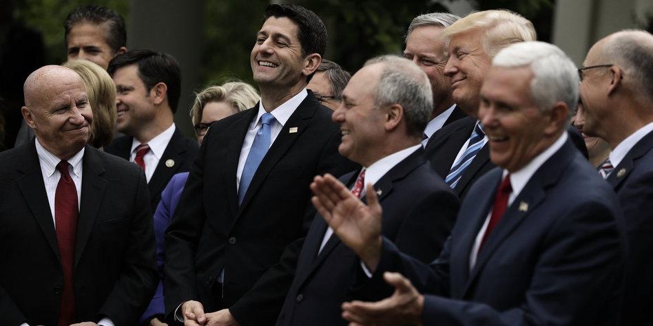 Hauchdünne Mehrheit: Trump feiert Teilsieg bei