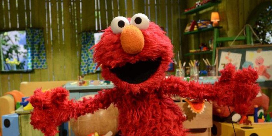 bde5543cb5 Ein amerikanischer Superstar, das Mini-Monster Elmo, übernimmt die  Moderation der Sesamstraße. Lena Meyer-Landrut ist mit von der Partie.
