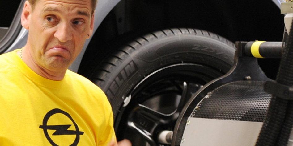 Opel-Kurzarbeit in Bochum?: Keine schnellen Autos - taz.de