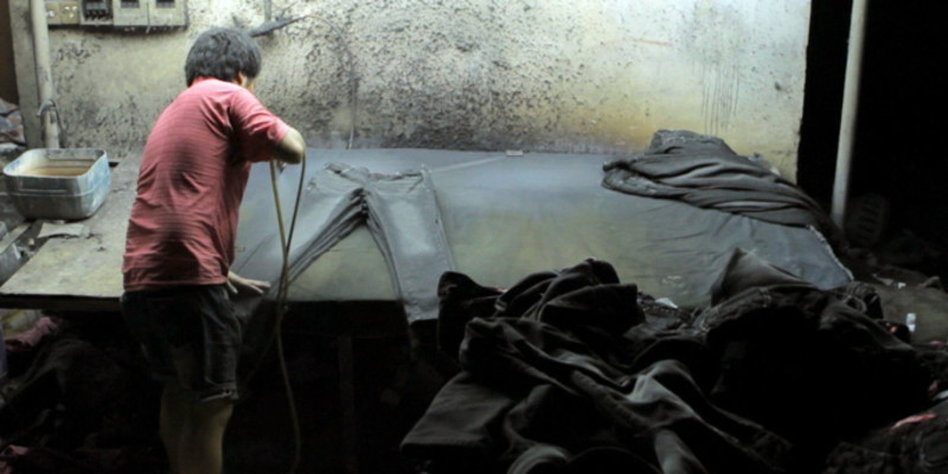 jeans produktion