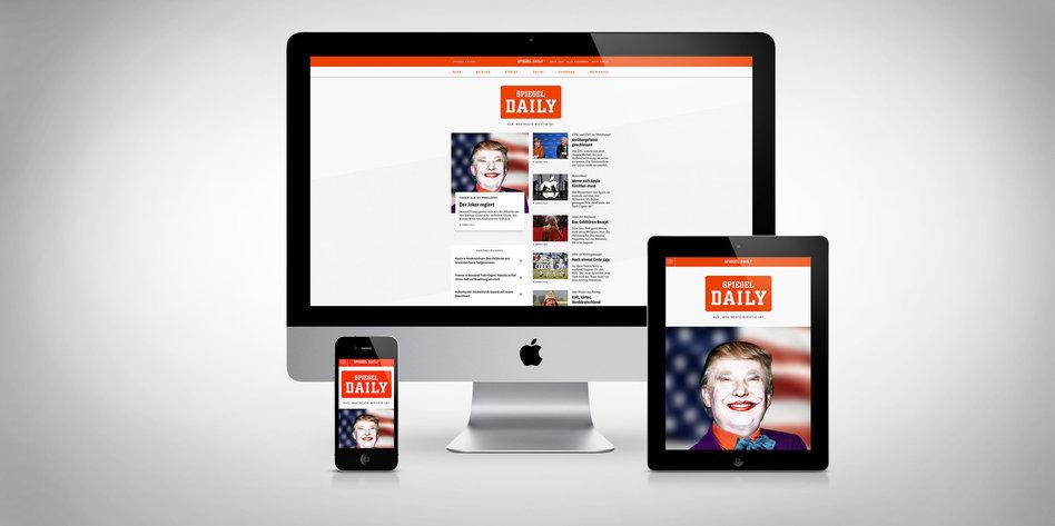 Spiegel daily als t gliches newsprodukt linsencurry und for Spiegel wochenzeitung