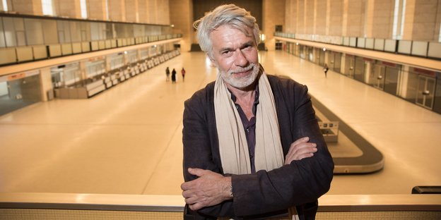 Chris Dercon in Tempelhof