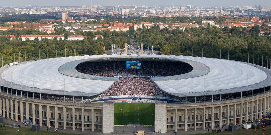 Leichtathletik - International: Bolt zu Umbauplänen des Berliner Olympiastadions: