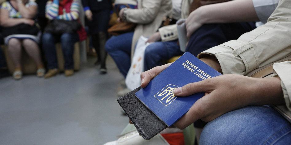 ukrainischer reisepass ausstellende behörde