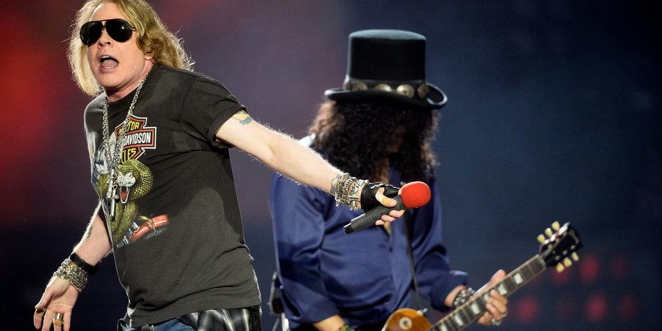 Guns N Roses In Hannover Die Rockgötter Und Der Donner Tazde