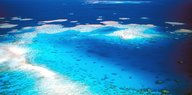 Das Great Barrier Reef vor Australien