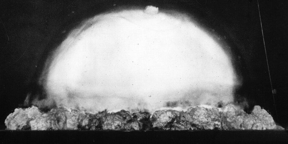 Trinity site atombombe dpa 16071945