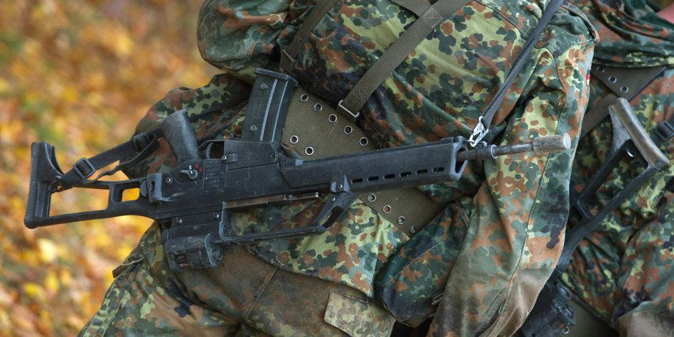 Bundeswehr untersucht Tod eines Soldaten nach Fußmarsch