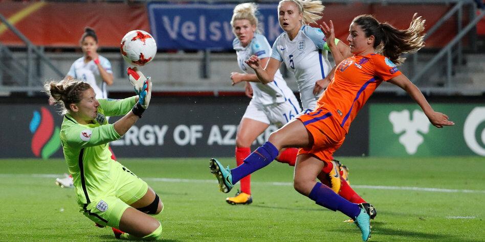 Niederlande erstmals Fußball-Europameister der Frauen