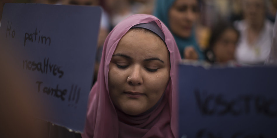 Muslimische Gemeinschaft In Barcelona Der Islam Verbietet Uns