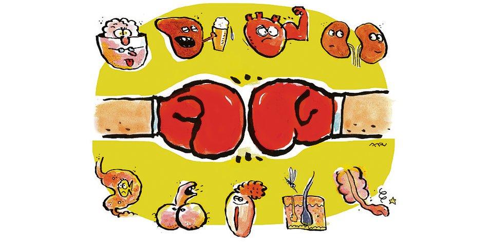 Blutpenis bilder Blutpenis oder
