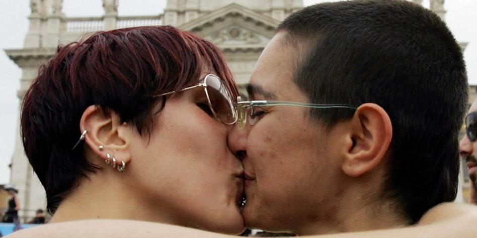 Zwei Italienische Lesben