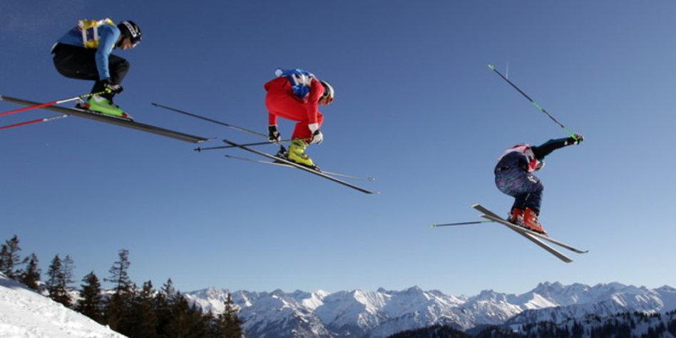 Skicross Unfall